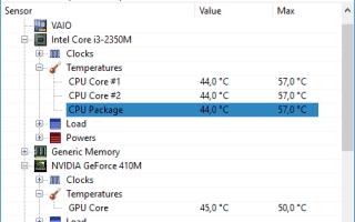 Как проверить температуру процессора, видеокарты и других частей компьютера