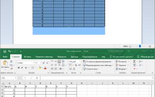 Как сделать таблицу в Wordpad разными способами