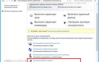 Как установить любой цвет для указателя мыши в Windows 10.