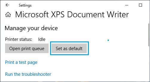 set-microsoft-xps-document-writer-default-printer.png